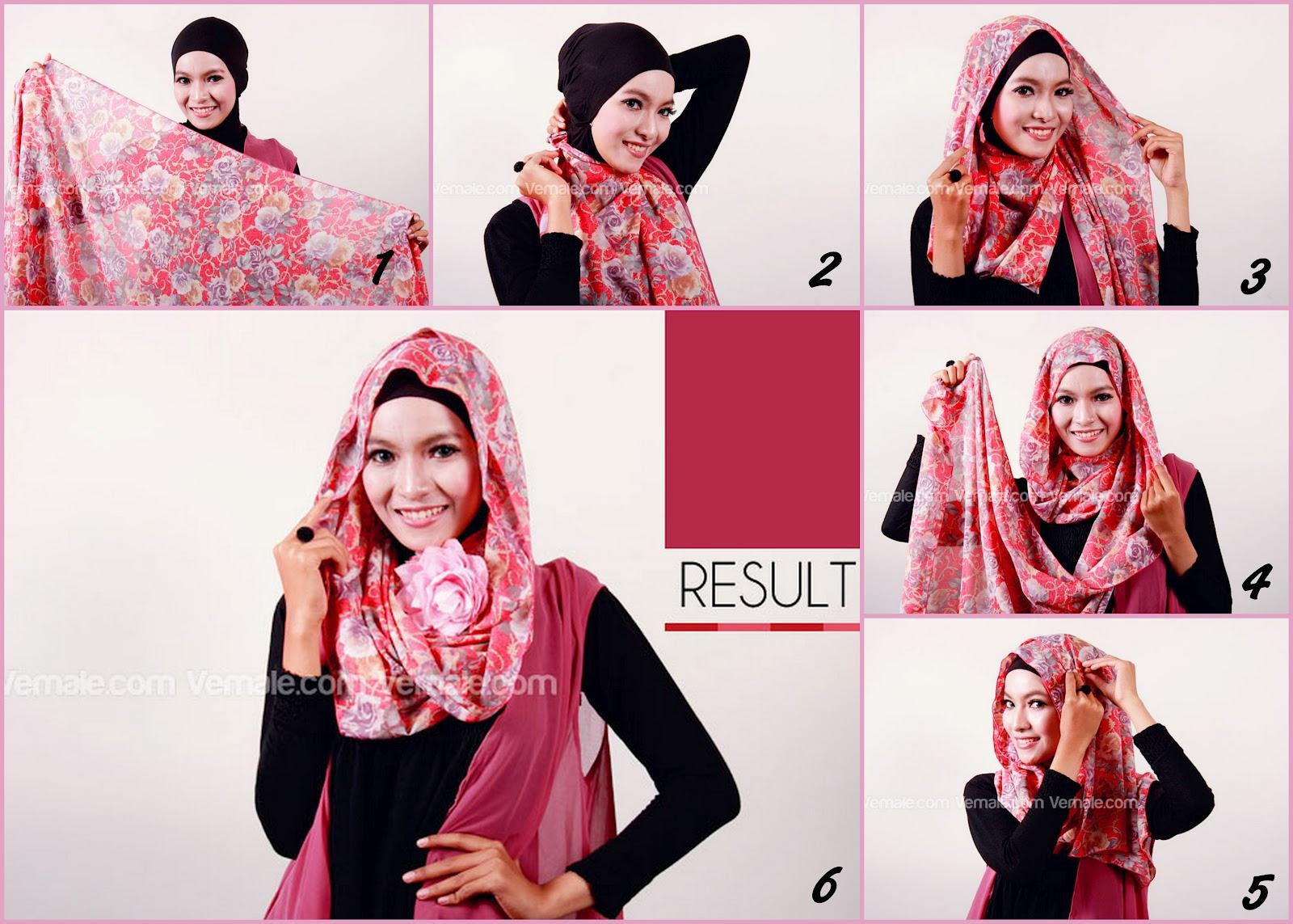 27 Ide Tutorial Hijab Pashmina Licin Gratis Tutorial Hijab