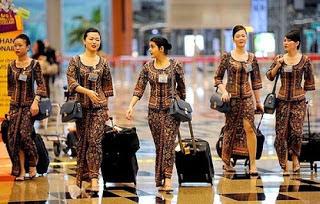 Model Baju Batik Untuk Kerja Seragam Modern
