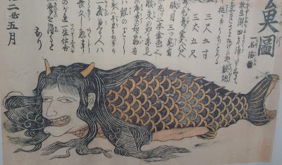 Monstruo marino femenino japonés