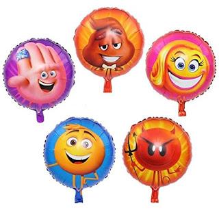 Emoji Movie balloons