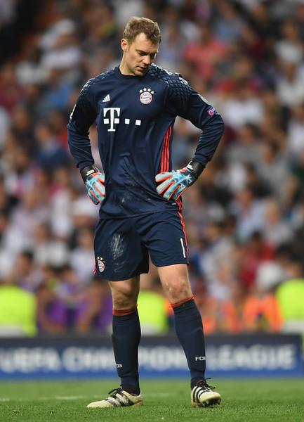 Manuel Neuer Bayern Munich 2017