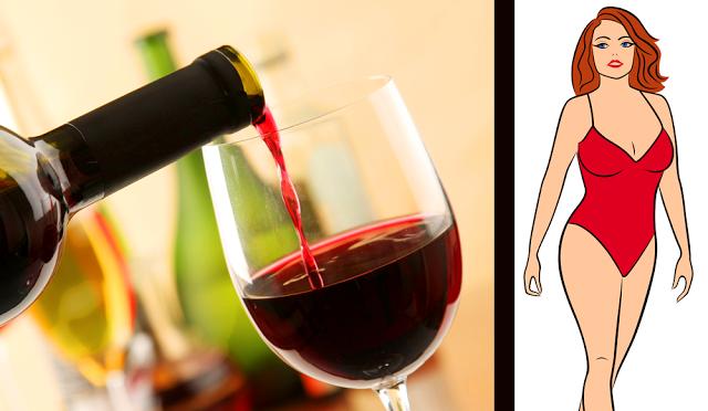 subliniaza talia cu vin