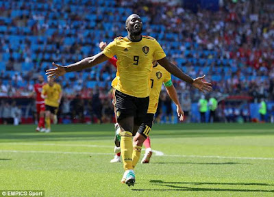 'With Romelu Lukaku in this sort of form, they definitely have a chance': Didier Drogba insists Belgium can win World Cup with striker firing up front