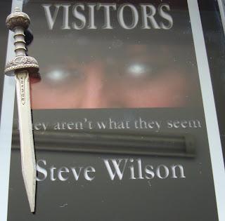 Portada del libro Visitors, de Steve Wilson