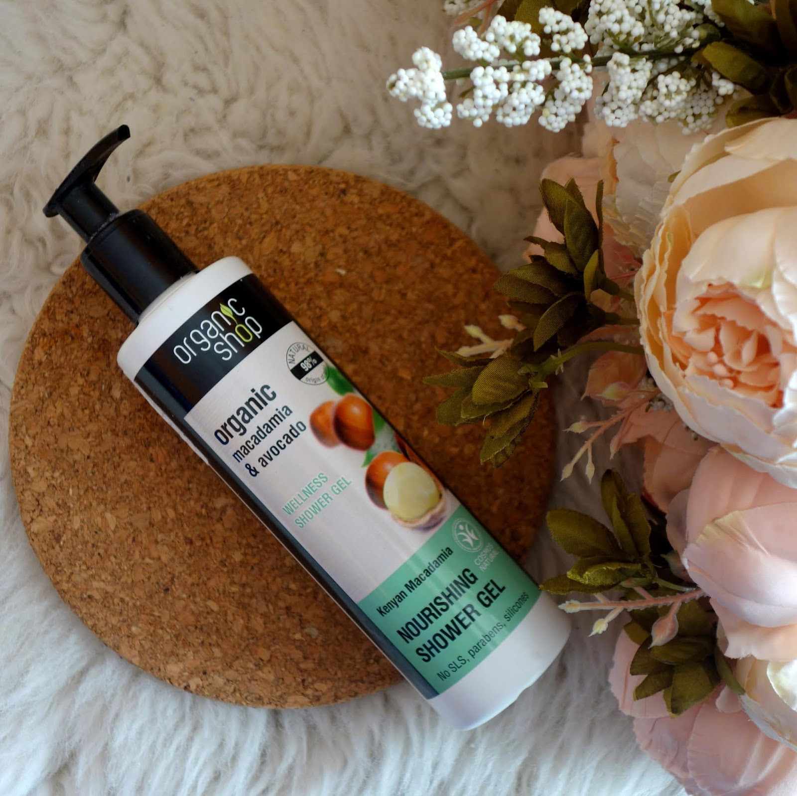 ORGANIC SHOP Organic Macadamia & Avocado Welness Shower Gel