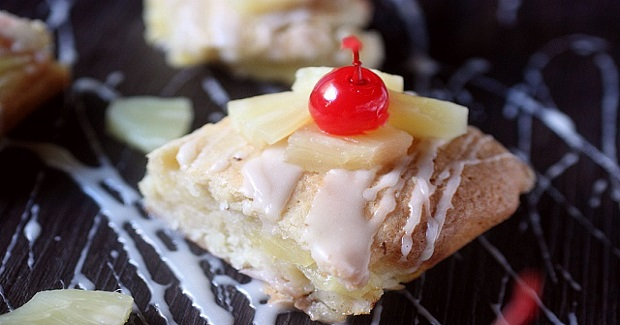 Cakey Piña Colada Bars Recipe