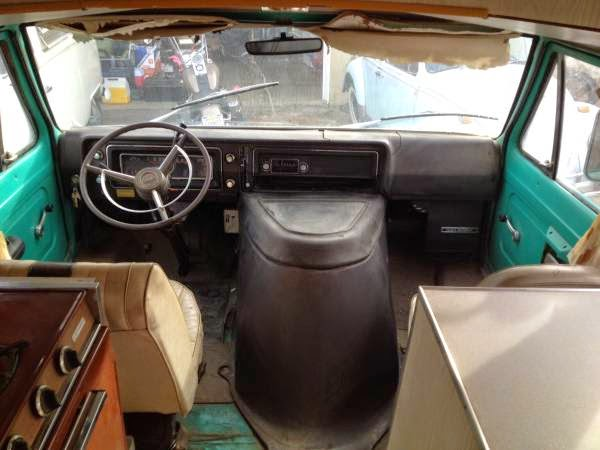 Used Conversion Vans For Sale >> Used RVs 1969 Ford Van Camper Conversion For Sale by Owner