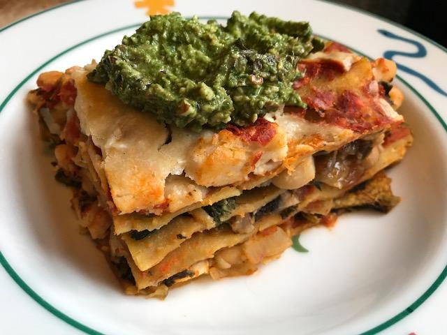 Vegan Crunk Protein Packed Lasagna Noodles