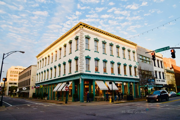 Broughton Street:  #8 of 12 Things To Do in 24 Hours in Savannah, GA | Ms. Toody Goo Shoes