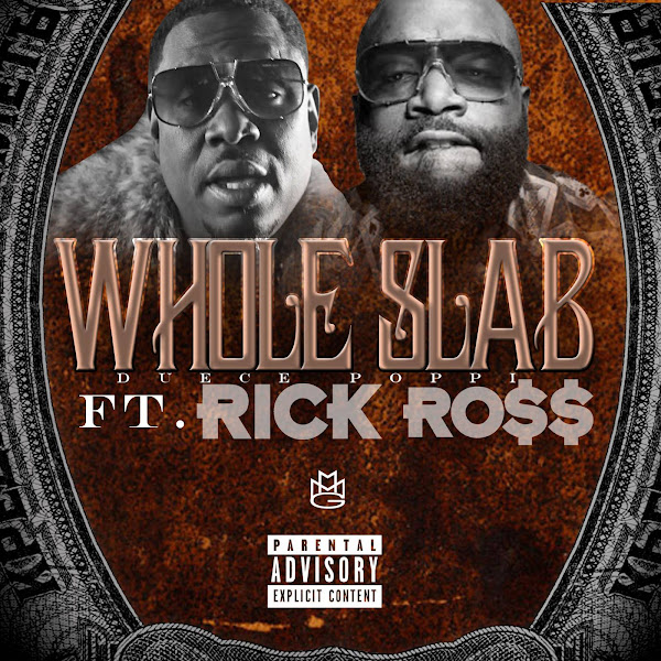 Whole Slab - Get Out the Crowd (feat. Rick Ross) - Single Cover