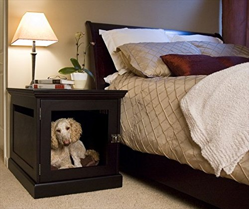 wooden decorative furniture dog cratekennel with removeable door panel looks like end table - Decorative Dog Crates
