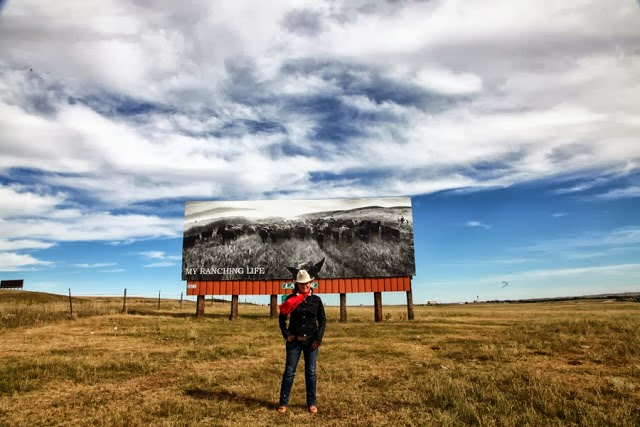 LENSCRATCH - MY RANCHING LIFE BILLBOARD PROJECT
