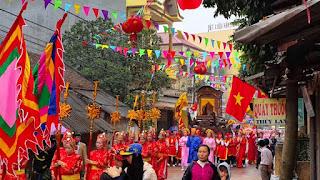 Hai Ba Trung temple festival 2