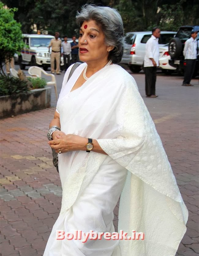 Dolly Thakore, Celebs at Farooq Sheikh Prayer Meet