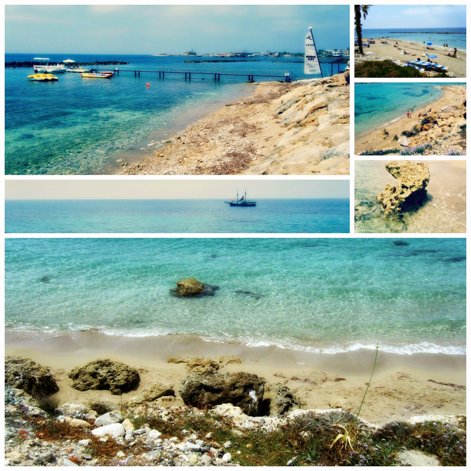 Zypern Cyprus Paphos Harbour Postcards From The