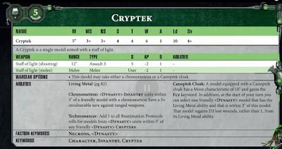 Necron Cryptek
