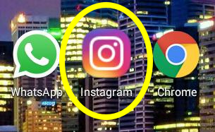 Como fazer login no aplicativo do Instagram
