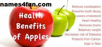 Benefits of  green apples