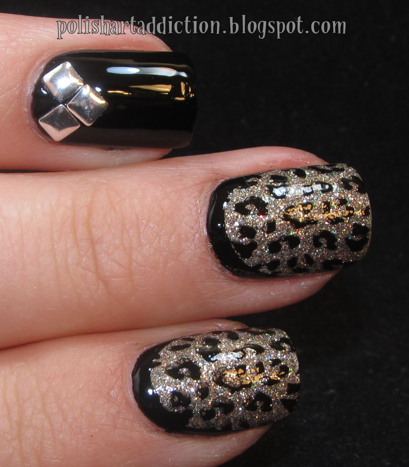 Shimmer Polish - Irene + Born Pretty Rhinestone Picker Upper Thingy