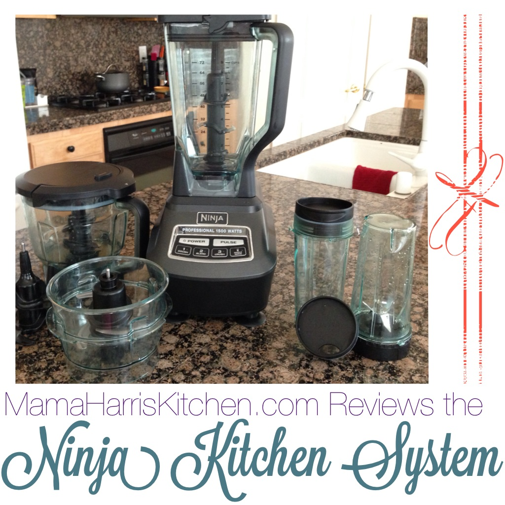 The Ninja Kitchen System is my New BFF! | Mama Harris\' Kitchen