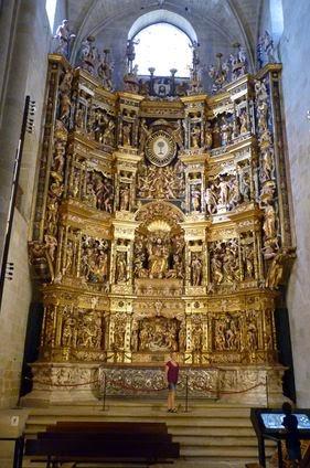 Retablo Mayor de la Catedral de Santo Domingo de la Calzada.