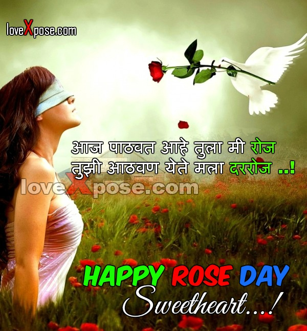 Rose Day fb facebook