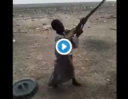 Baby Boko Haram CAPTURED