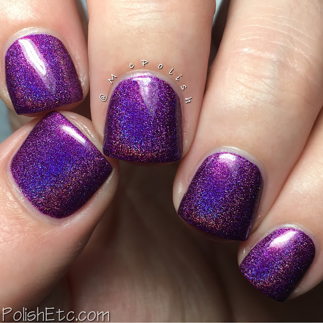 KBShimmer - Fall 2016 Collection - McPolish - Orchidding Me?