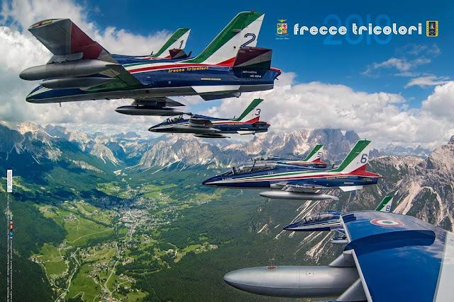 Formazione poster 2018 Frecce Tricolori