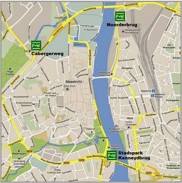 park and ride en Maastricht