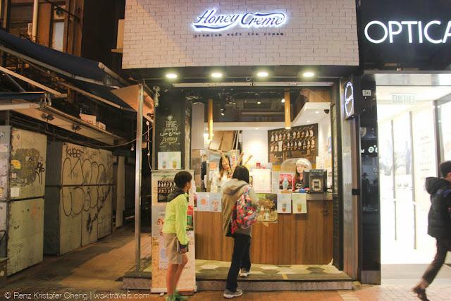 Honey Creme in Hong Kong