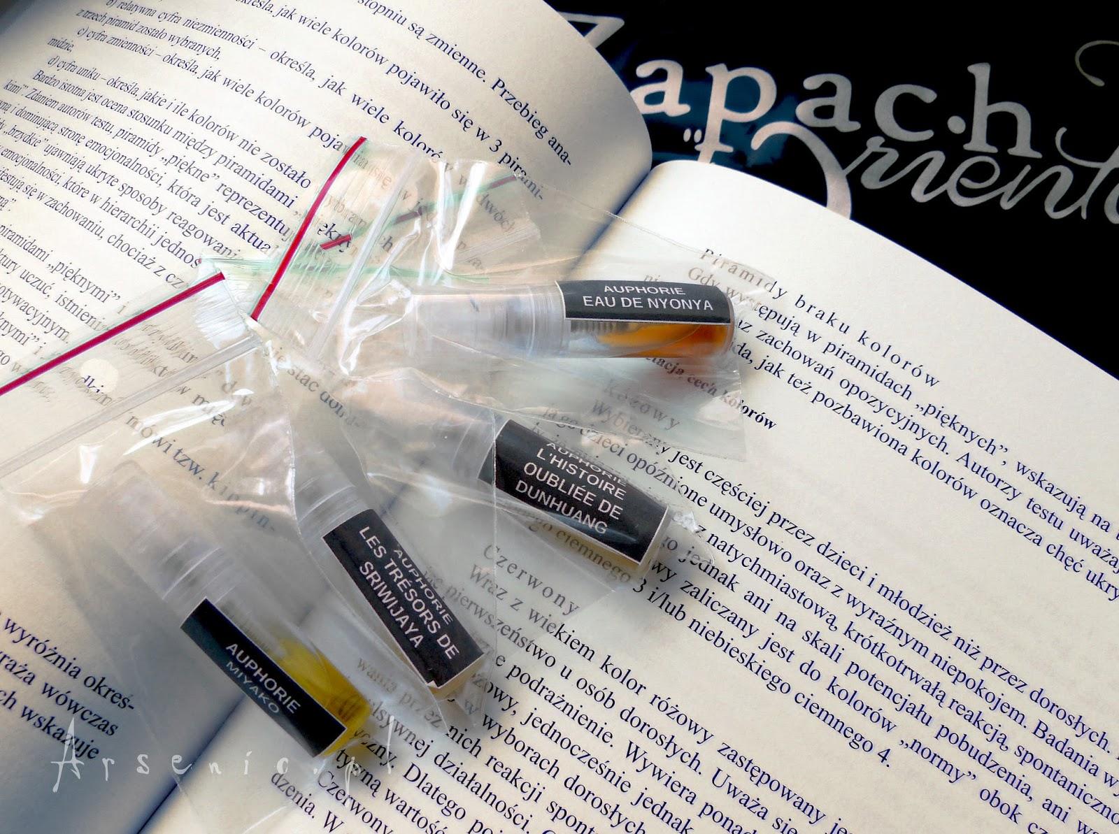 Wyniki konkursu z perfumerią Zapach Orientu i Auphorie