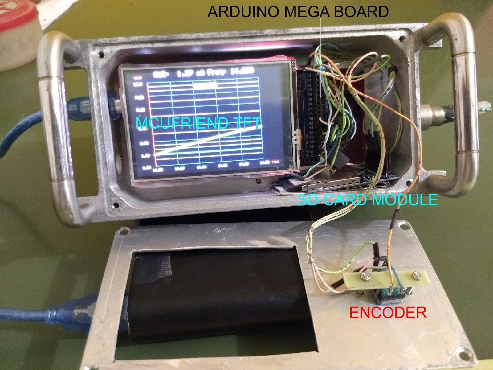 Antenna Analyzer (W8TEE/K2ZIA with mods by WA2FZW/VK3PE) done