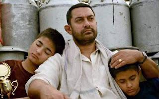 Aamir Khan is in the second song 'Dhaakad' of Dangal