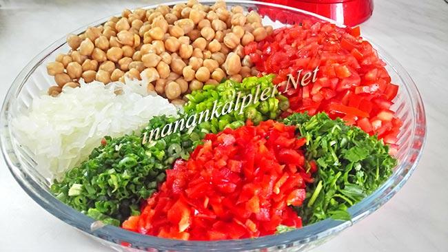 Nohut Salatası Nasıl Yapılır - inanankalpler.net