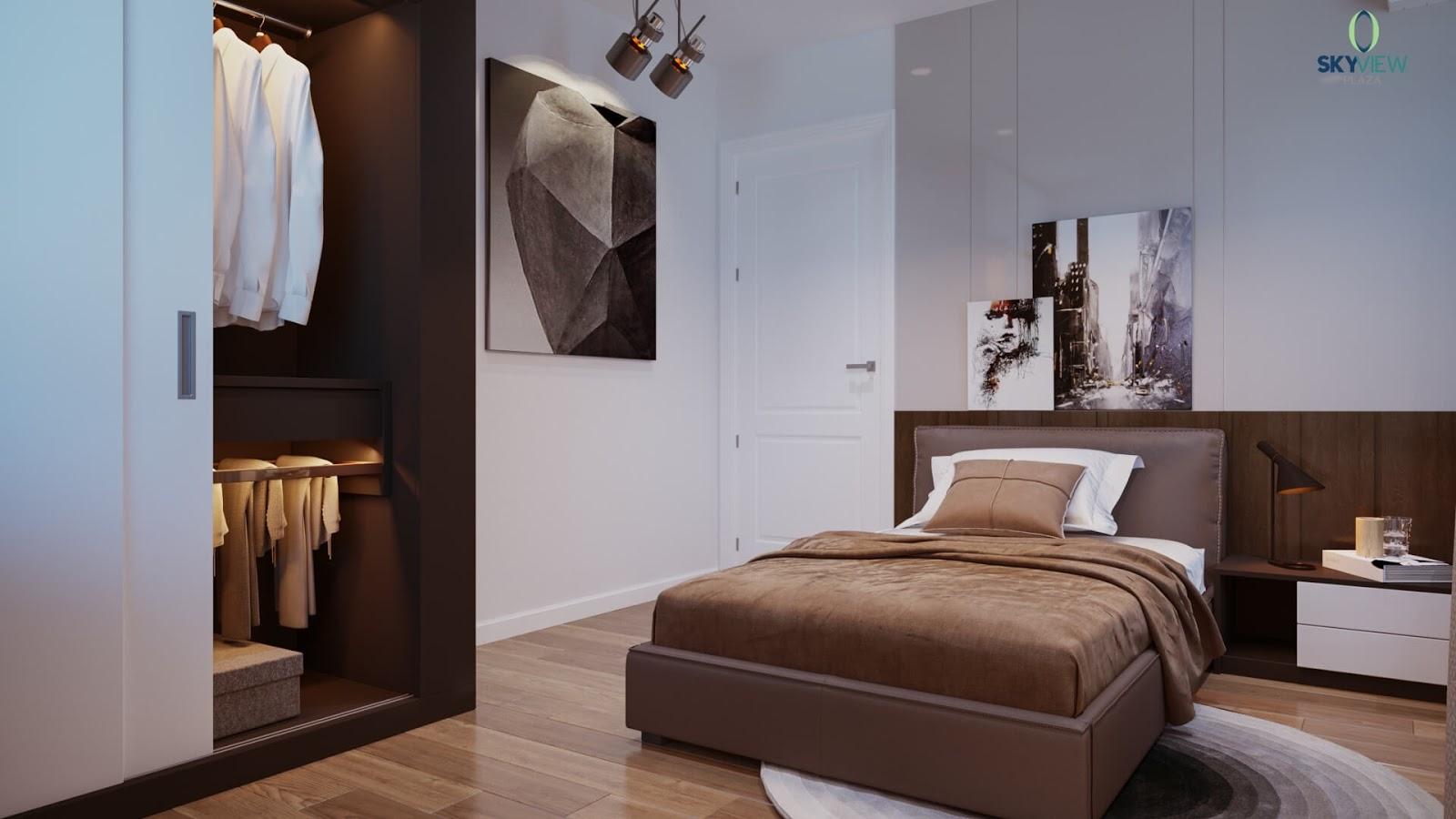 Phòng ngủ dự án Sky View Plaza Giải Phóng