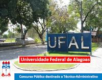 Apostila Universidade Federal de Alagoas - Ufal 2016 - Assistente em Administração