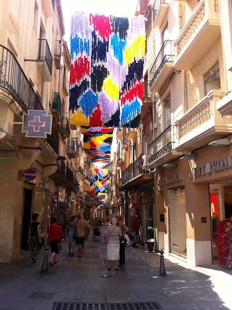 calles comerciales de Reus en Tarragona