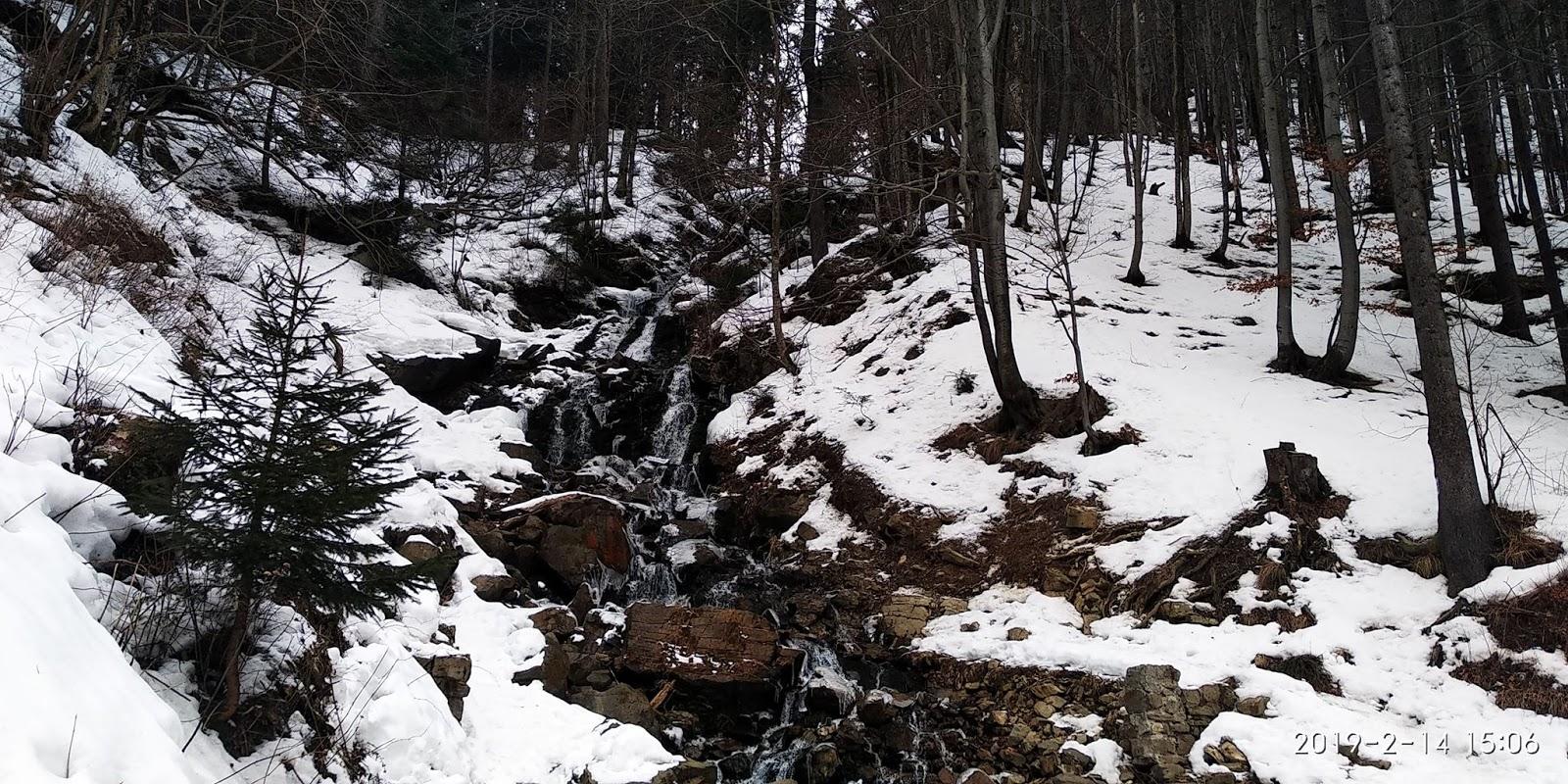 """Результат пошуку зображень за запитом """"водопад труфанец снег зима 2019"""""""