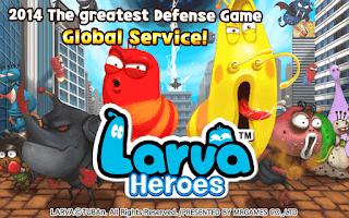 Halo selamat pagi sobat Playtheapk dimanapun kalian berada Download Larva Heroes Mod Apk 2019 - Unlimited Money and Candy
