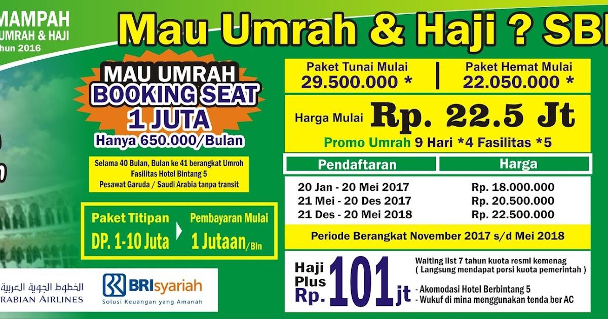 Download Contoh Spanduk Umroh.cdr | KARYAKU