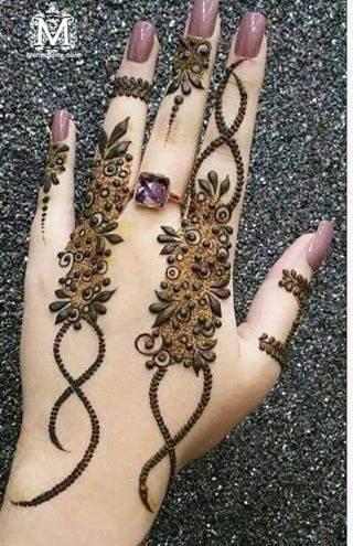 Simple Wedding Mehndi Designs