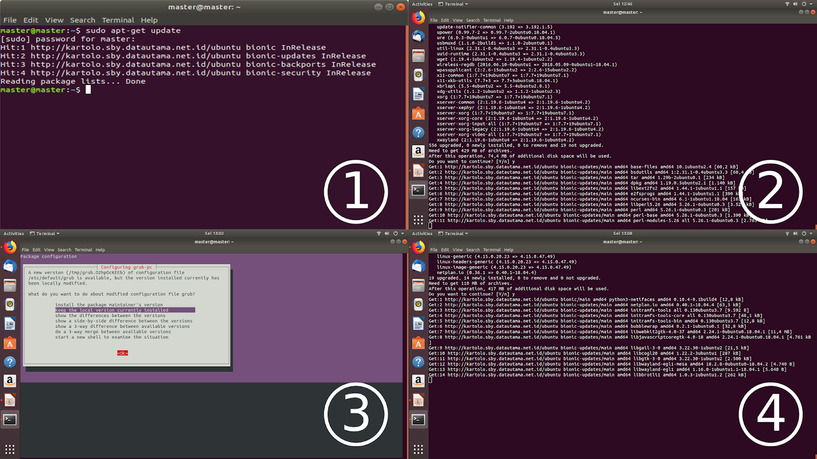 Ubuntu Buzz !: Step By Step To Upgrade Ubuntu from 18 04 to
