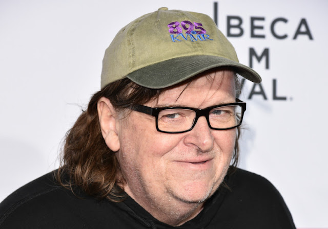Le documentariste Michael Moore