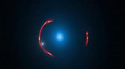 Dwarf dark galaxy hidden in ALMA gravitational lens image