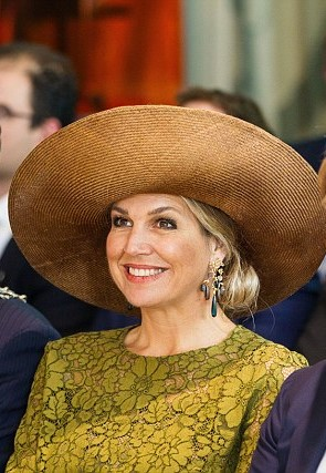 Queen Maxima beaming as she opened the Dutch branch of the Singularity  University eca18808b299