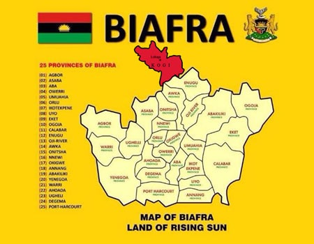 Igala nation disowns Biafra over inclusion in map