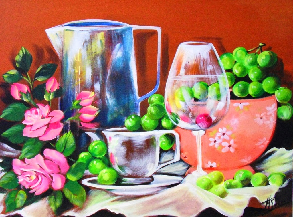 Cuadros modernos pinturas y dibujos 06 27 14 for Comedor facil de dibujar
