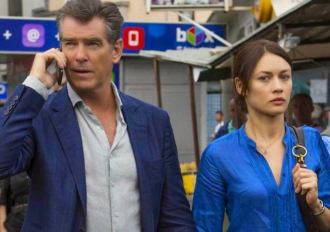 Pierce Brosnan Olga Kurylenko The November Man