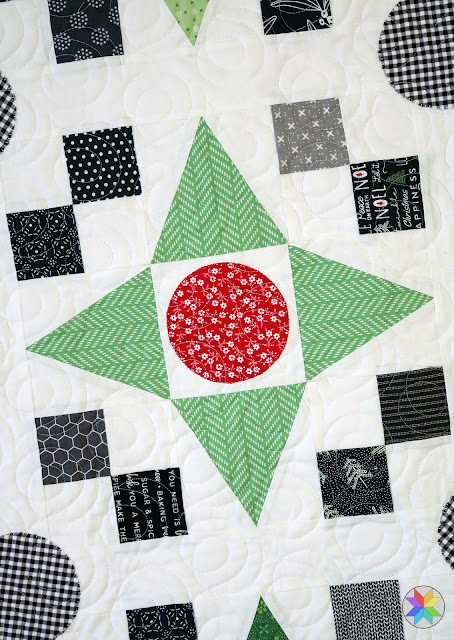 Game Night - a fat quarter Christmas quilt by Andy of A Bright Corner  - quilt pattern from the Fresh Fat Quarter Quilts book